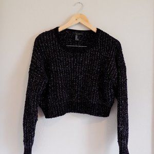 Forever 21 sparkly and glittery sweater